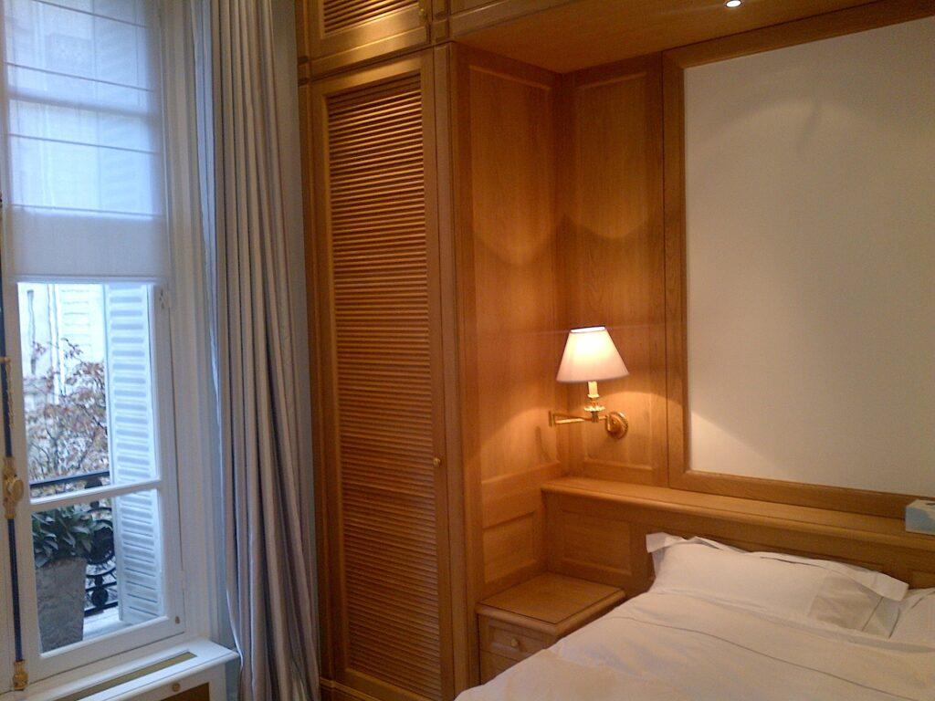 Exemple de chambre rénovée
