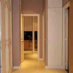 Peinture et rénovation d'un appartement de 126m² à Paris 4e.