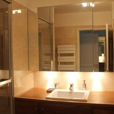 Aménagement de salle de bain à Paris