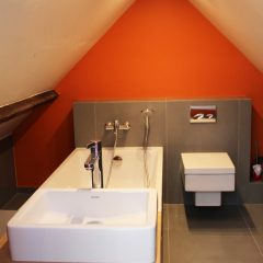 Salle de bain sur mesure.